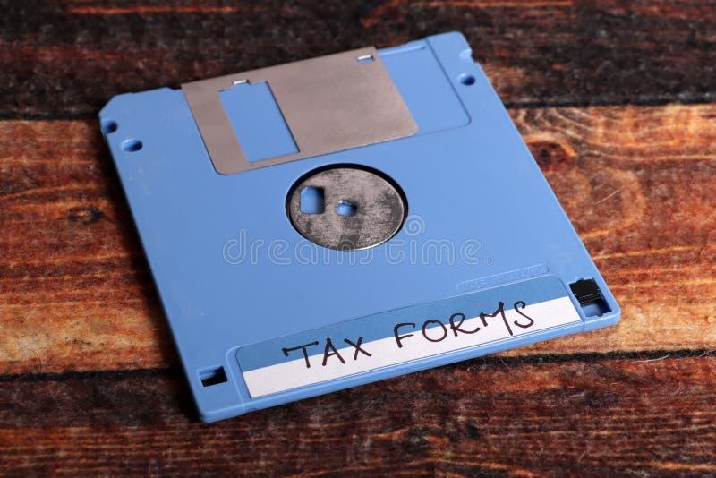 报税表 库存照片