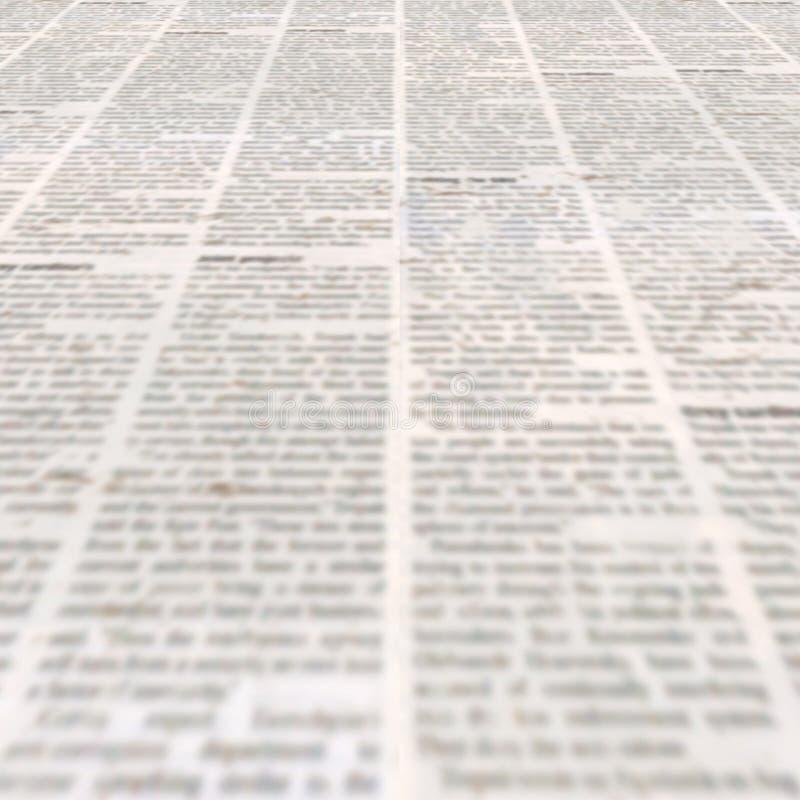 报纸有老葡萄酒不值一读的纸纹理背景 库存图片