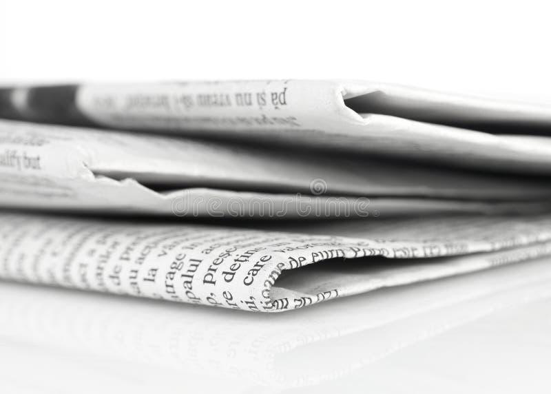 报纸系列 免版税库存照片