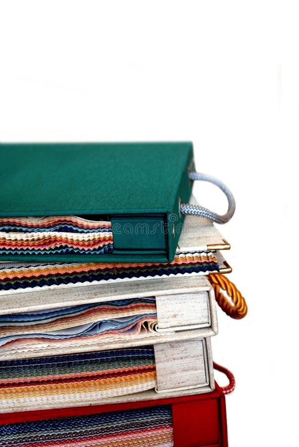抽样人员纺织品 免版税库存照片