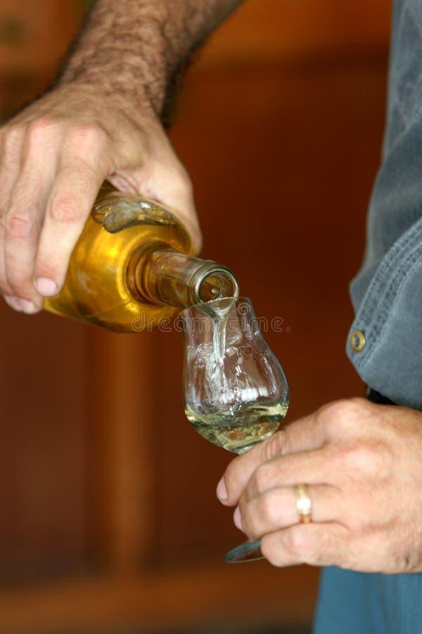 抽样人员酒 免版税库存图片