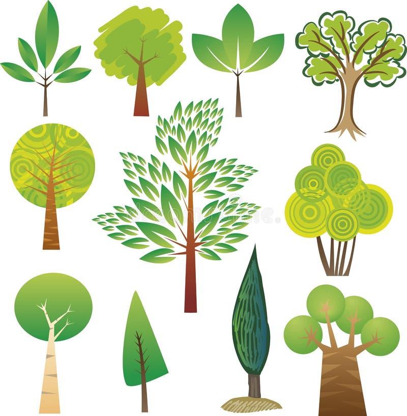 抽样结构树 库存例证