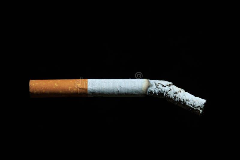 抽烟是癌症和死亡的一个主导的原因 图库摄影