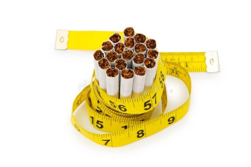 抽烟的概念 免版税库存图片