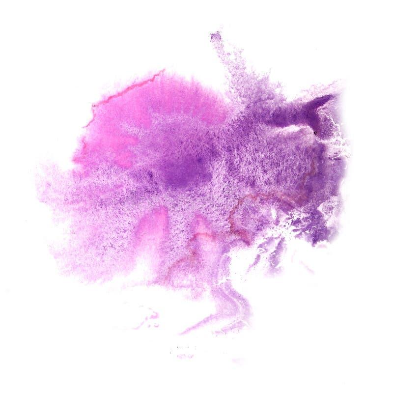 丁香大型人礹c._抽象丁香,桃红色图画冲程墨水水彩刷子水c.