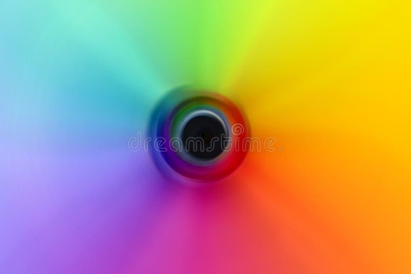 抽象三原色圆形图 免版税库存照片
