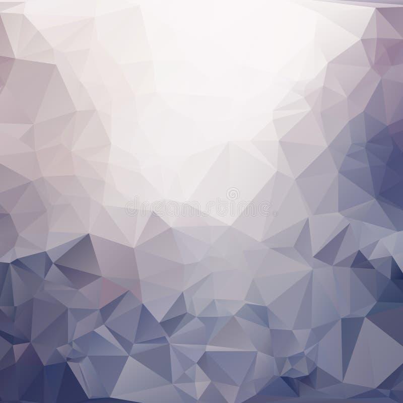 抽象三角多角形背景 向量例证