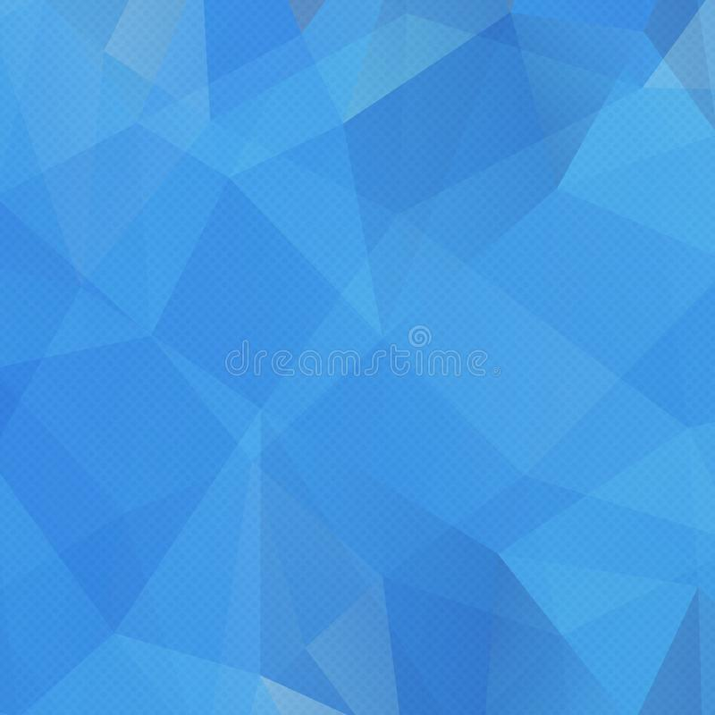 抽象三角样式背景 马赛克,例证 库存例证