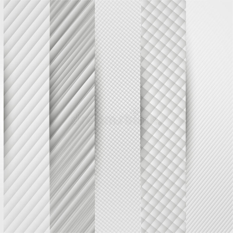 抽象三角模板横幅 向量例证