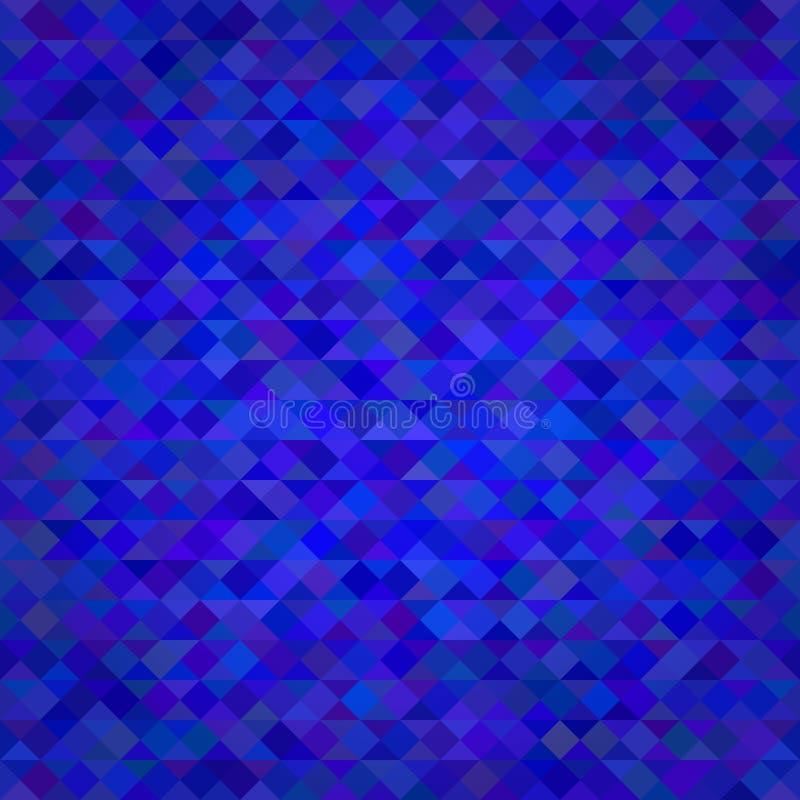 抽象三角蓝色背景 皇族释放例证