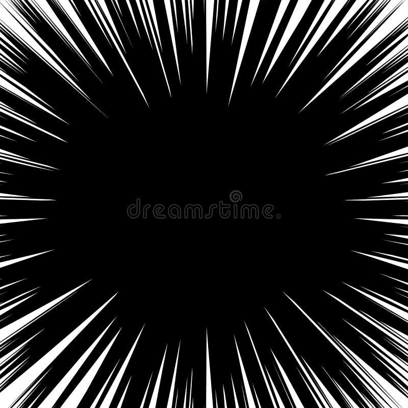 抽象不规则的爆炸,爆炸效应 辐形-放热l 皇族释放例证