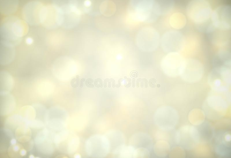 抽象与亮光的传染媒介米黄背景。 皇族释放例证