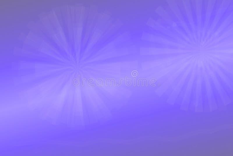 抽象与白色光的分数维紫罗兰典雅的背景纹理 可变的动荡和星系形成 有用为 库存例证