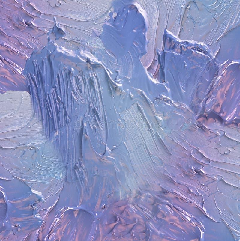 抽象丙烯酸漆污点纹理和水彩飞溅 递在白色隔绝的画的五颜六色的丙烯酸酯的泼溅物 免版税库存照片