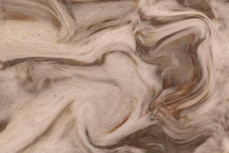 抽象丙烯酸酯的波动图式,大理石墨水纹理背景 库存照片