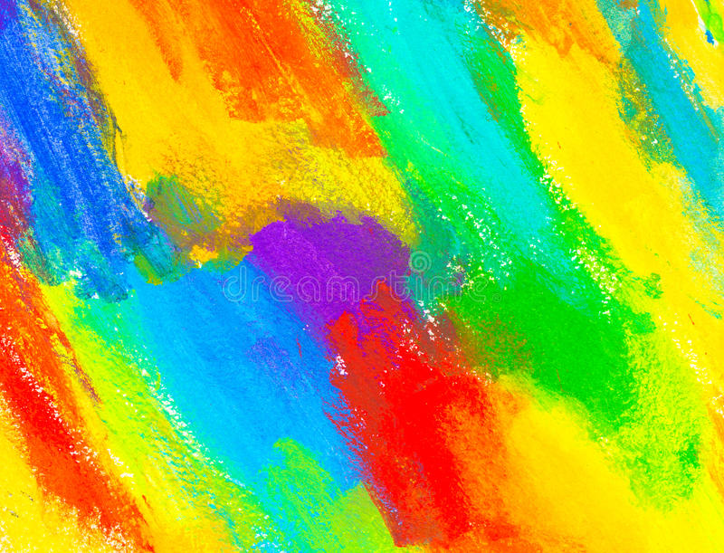 抽象丙烯酸酯的颜色 库存照片
