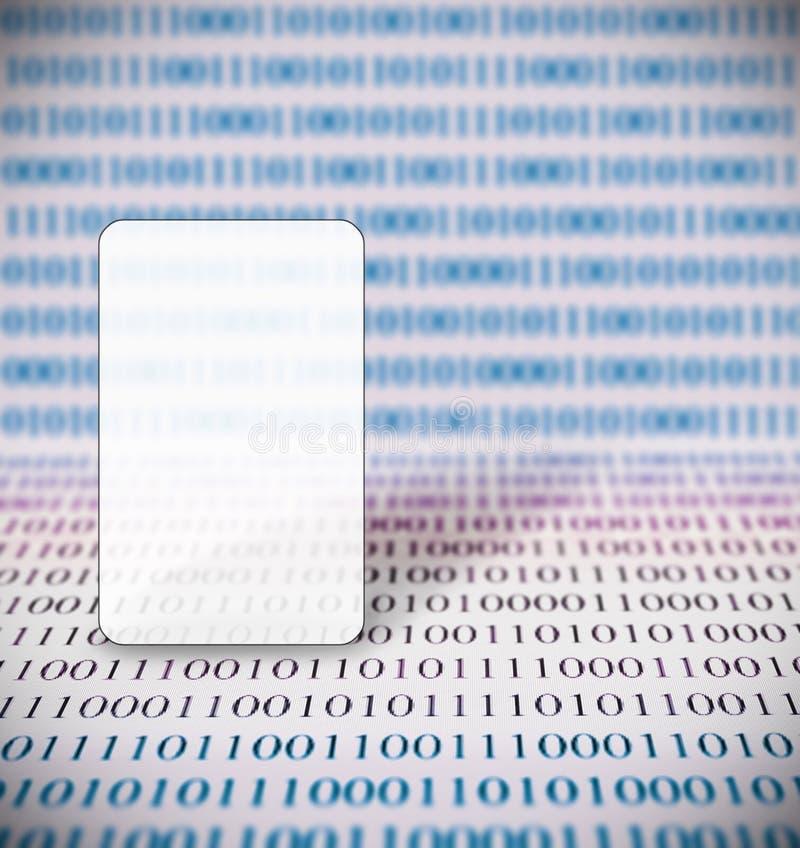 抽象二进制编码和拷贝空间 皇族释放例证