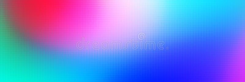 抽象五颜六色使被弄脏的抽象背景光滑 向量例证