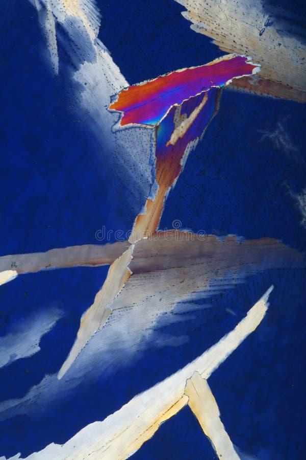 抽象五颜六色的冰 库存照片