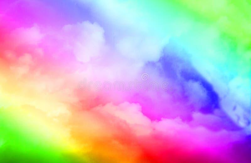 抽象五颜六色的创造性的背景 免版税库存图片