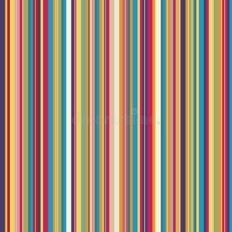 抽象五颜六色的模式数据条 皇族释放例证