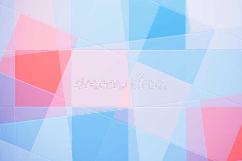 抽象五颜六色的瓦片 免版税库存图片