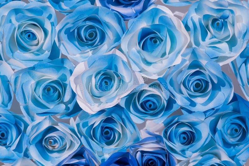 抽象五颜六色的美好的玫瑰色花纸背景 库存例证
