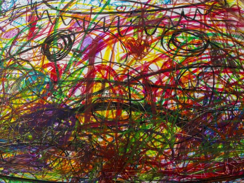 抽象五颜六色的背景,纹理,墙纸 向量例证