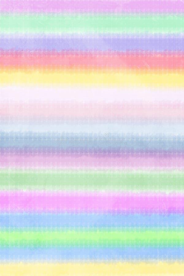 抽象五颜六色的水彩镶边背景 库存照片