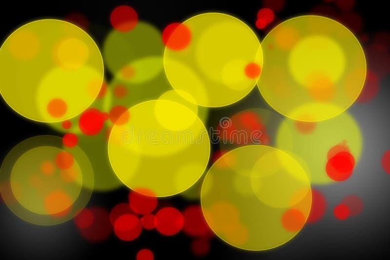 抽象五颜六色的bokeh背景 图库摄影