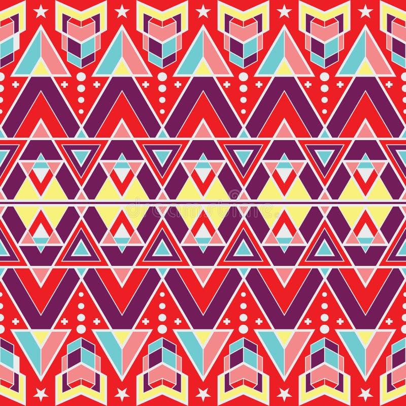 抽象传染媒介现代瓦片pattern01 皇族释放例证