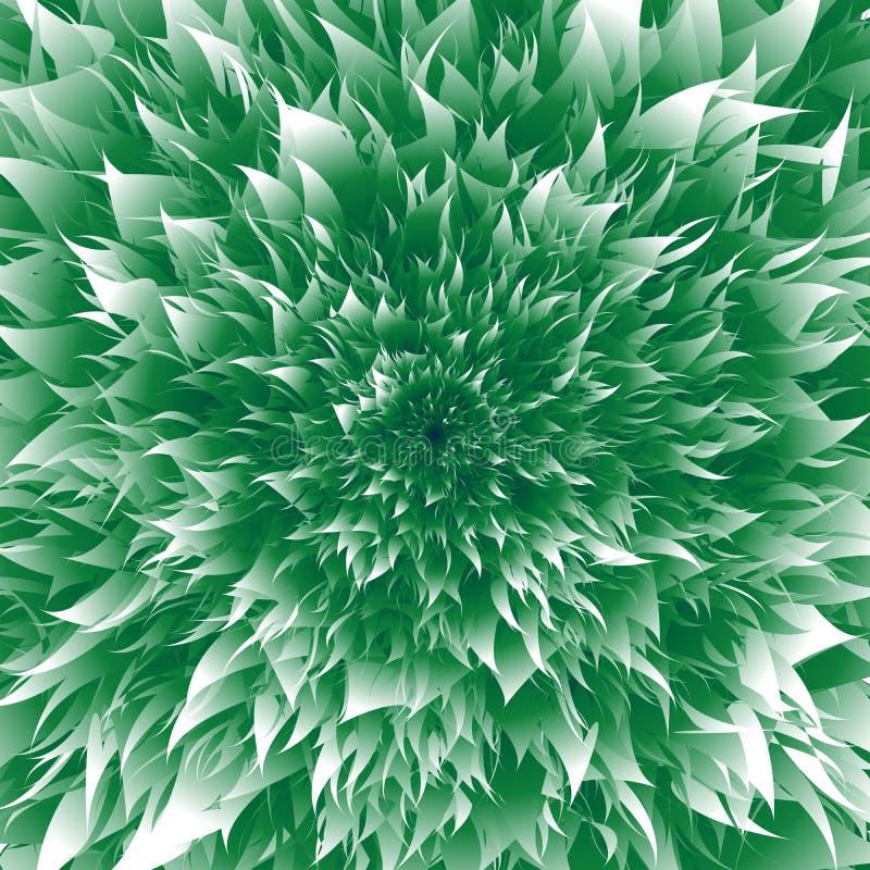 抽象传染媒介自然背景 芦荟外推了增长的叶子 皇族释放例证
