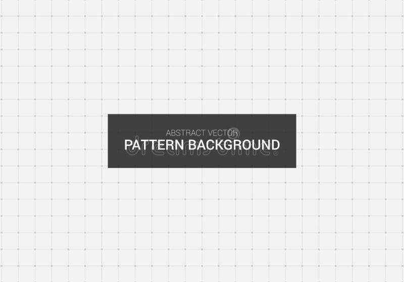 抽象传染媒介虚线样式背景设计模板 图库摄影