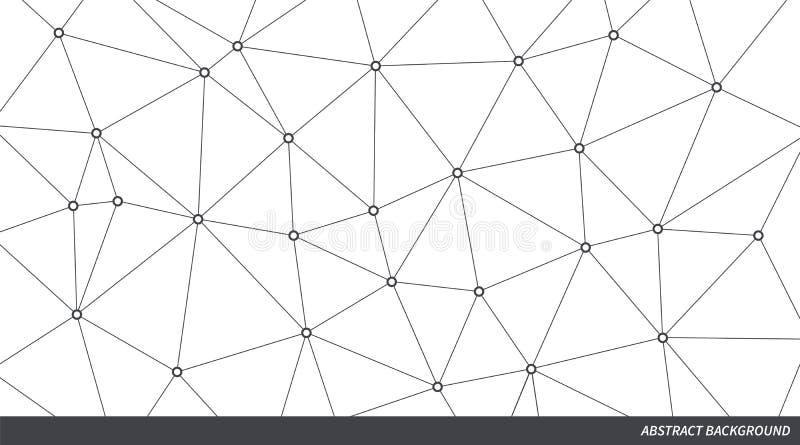 抽象传染媒介三角背景 企业介绍的,销售的项目,模板,概念Infographic例证 向量例证