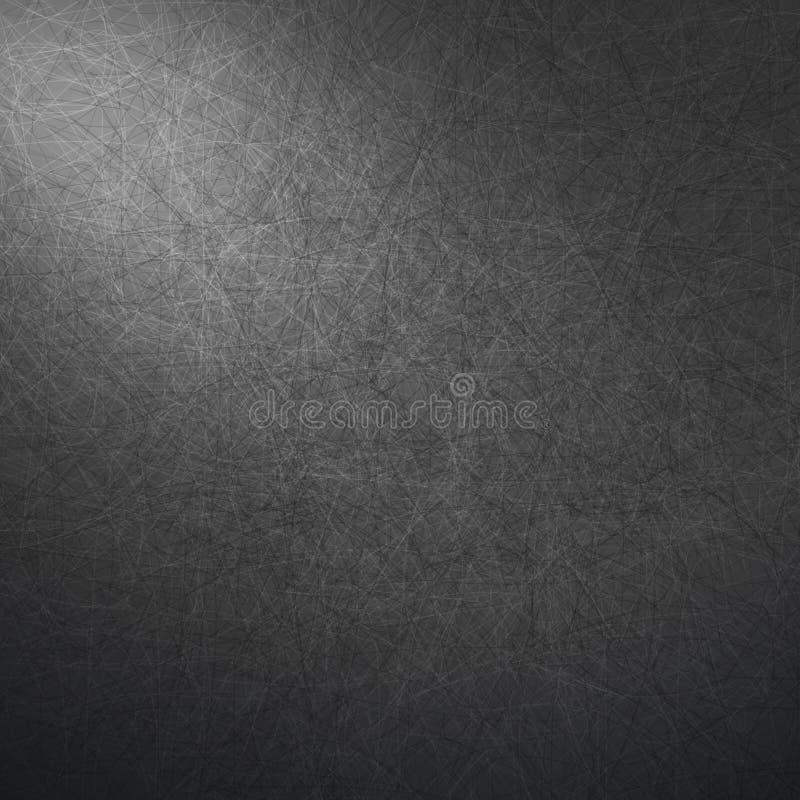 抽象传染媒介豪华深灰背景 库存例证