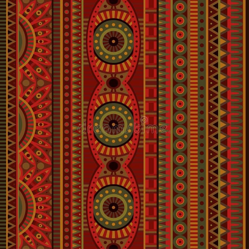 抽象传染媒介部族种族无缝的样式