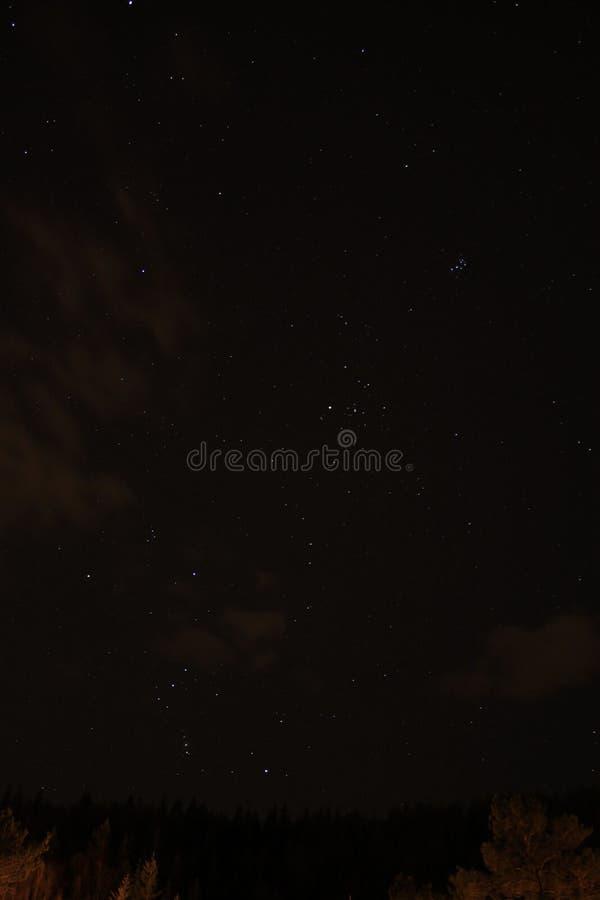 抽象例证闪电夜空 图库摄影