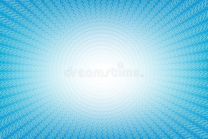 抽象光滑的浅兰的透视背景 向量例证