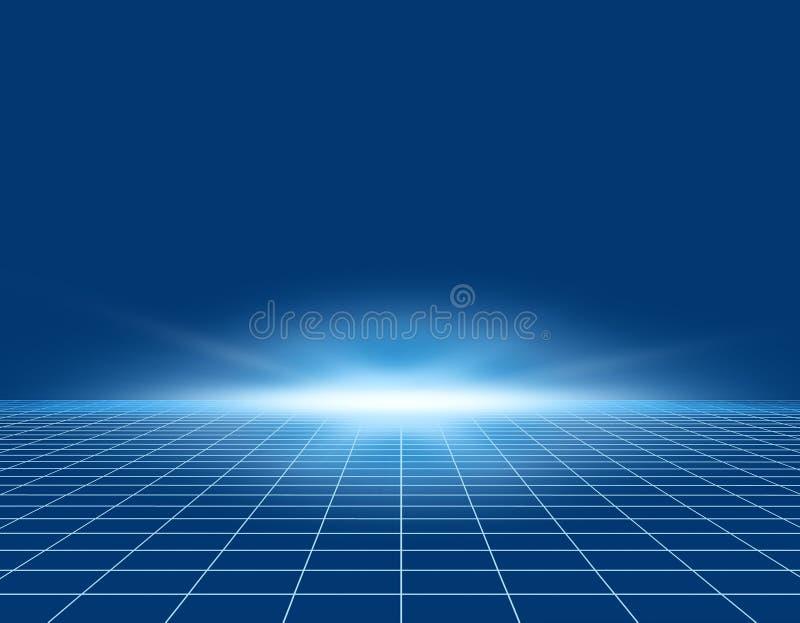 抽象光 向量例证