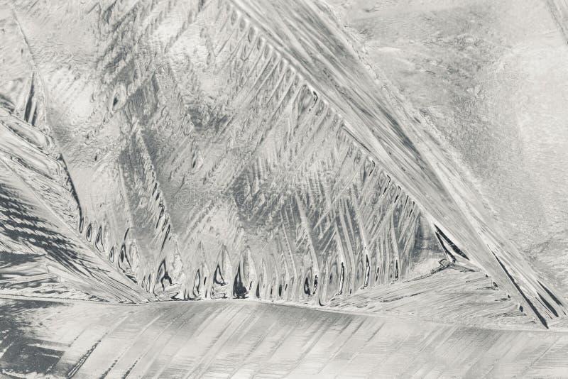 抽象冰 免版税库存图片