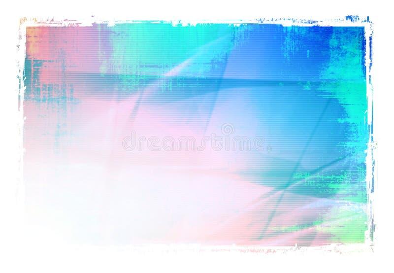 抽象冷却通知 向量例证