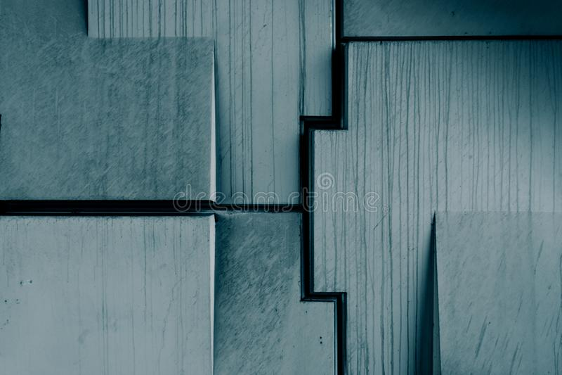 抽象几何具体纹理 库存图片