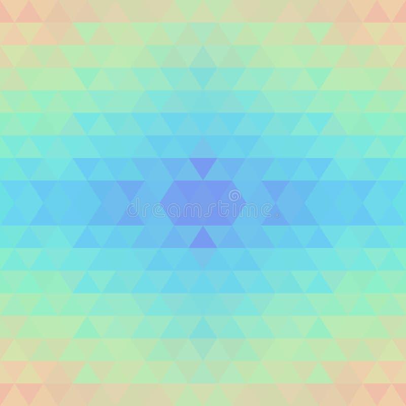 抽象几何无缝的传染媒介背景 皇族释放例证