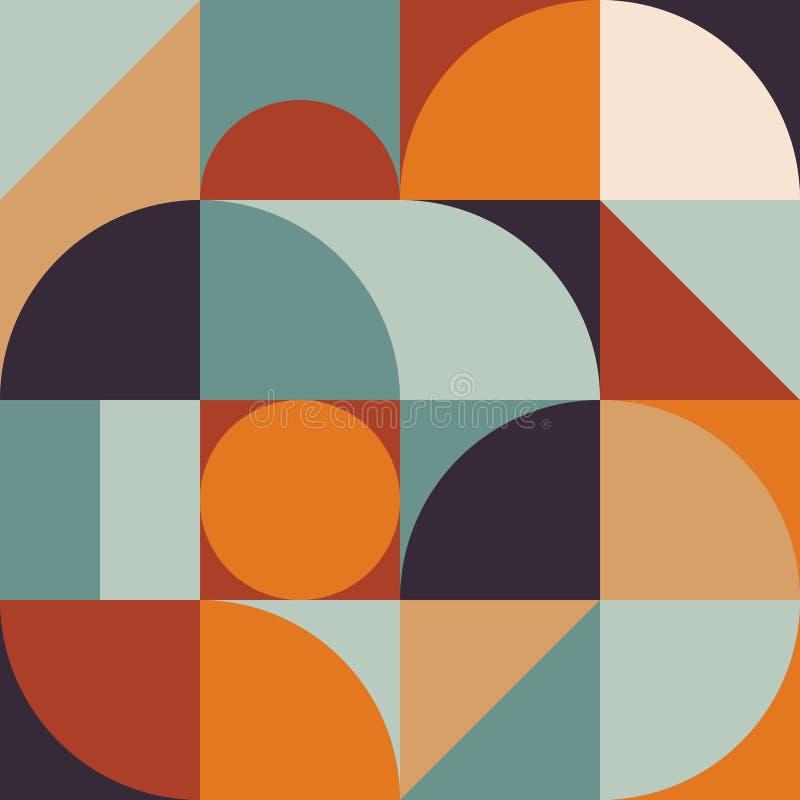 抽象几何样式图表12 皇族释放例证