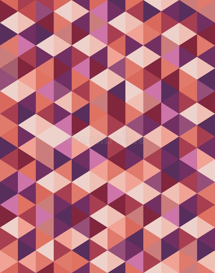 抽象几何样式背景 皇族释放例证
