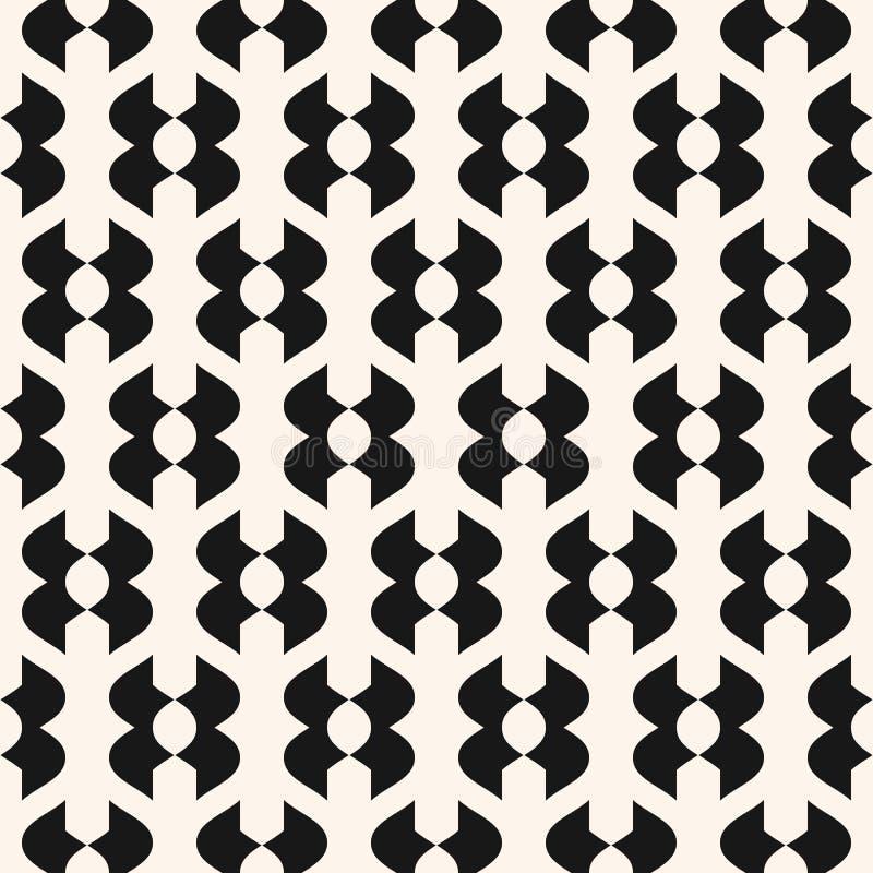 抽象几何模式无缝的向量 种族部族主题 向量例证