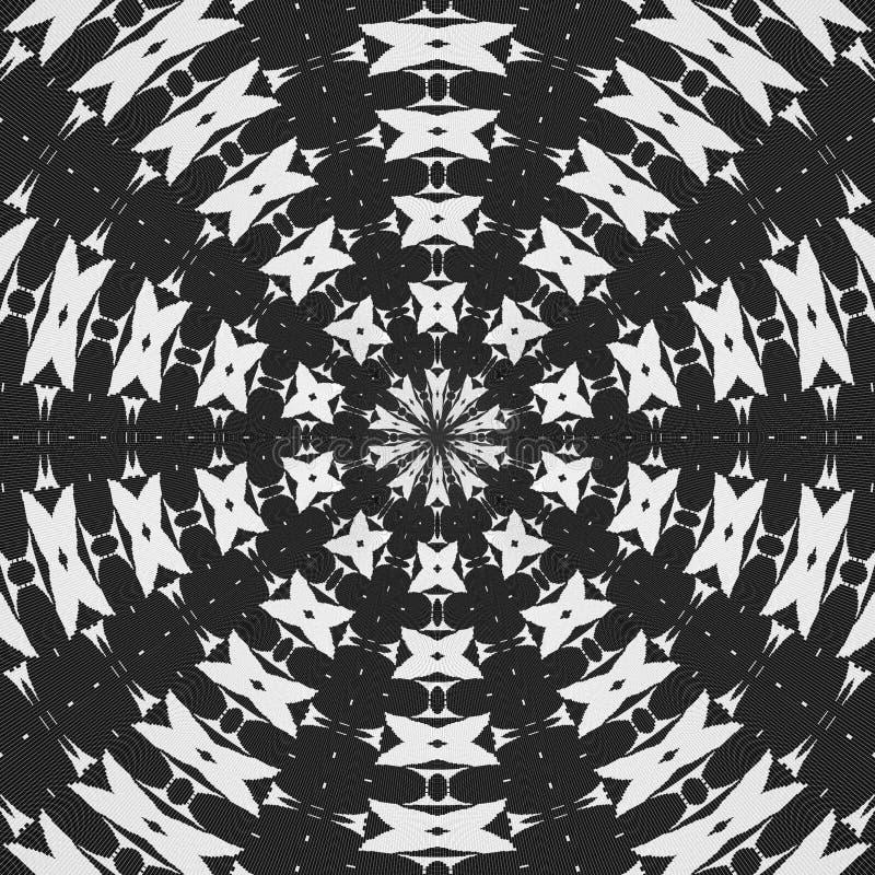 抽象几何模式 免版税图库摄影