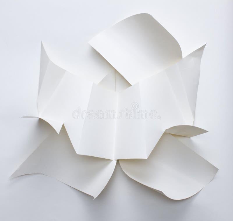 抽象几何纸纹理 库存图片