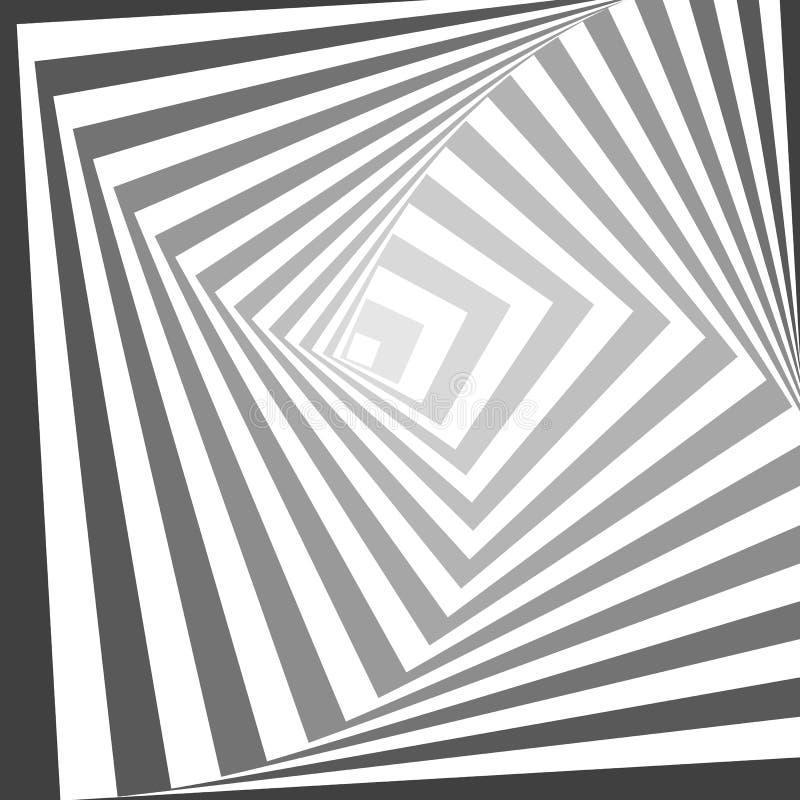 抽象几何线传染媒介样式 库存例证