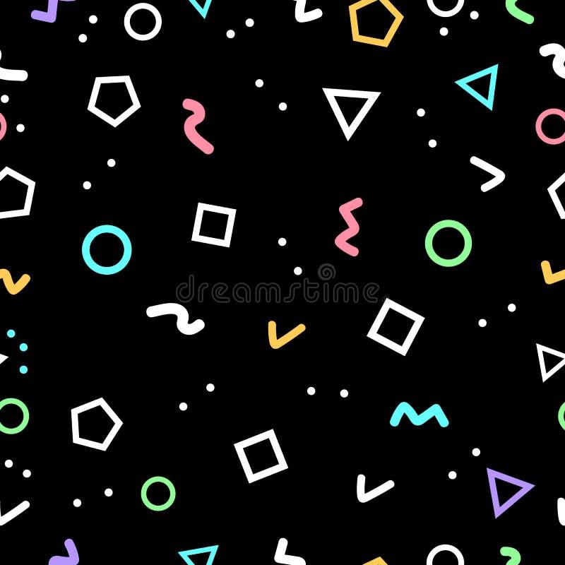抽象几何背景,几何形状由三角做了 皇族释放例证